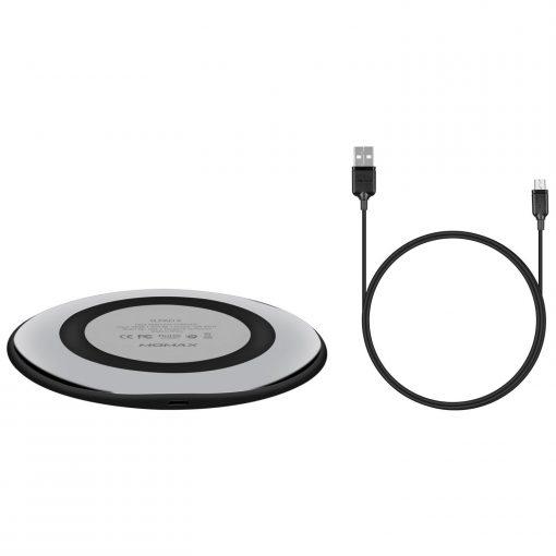 Беспроводное зарядное устройство Momax Q.Pad X Fast Wireless Charger Black-5