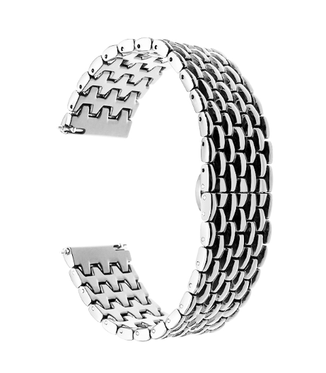 Браслет стальной Dragon для для Garmin Fenix Chronos-2