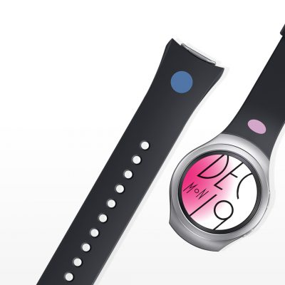 Ремешок Mendini Design Edition для часов Samsung Gear S2 ET-SRR72MDEGR