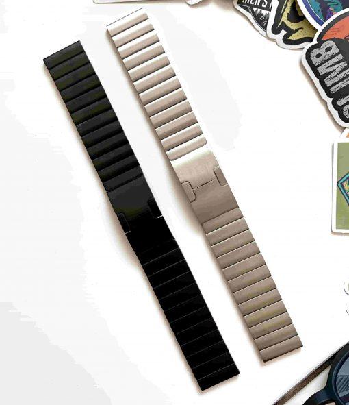 Ремешок металлический Link для Garmin Venu SQ