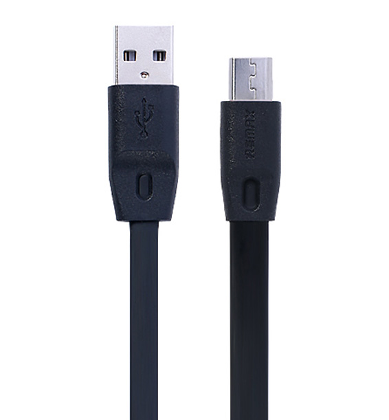 Кабель USB Remax Full Speed micro USB Cable 2M Black