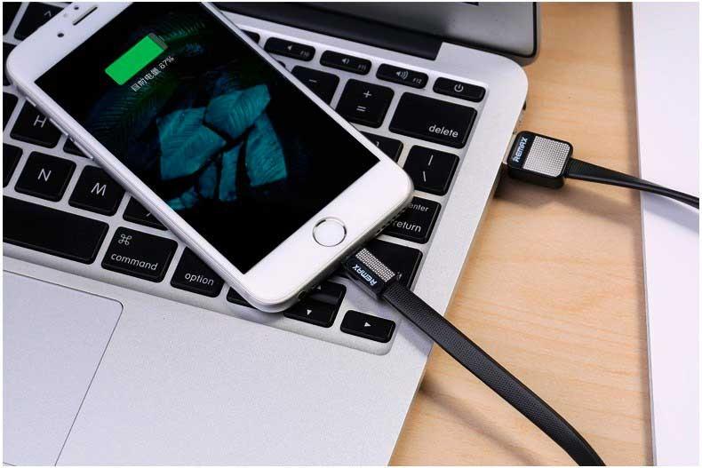 Кабель USB Remax Platinum Lightning Black (RC-044i)-2