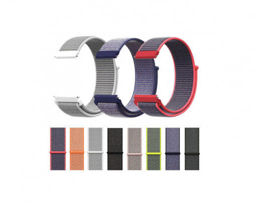 Нейлоновый ремешок для Samsung Galaxy Watch Active 2 40 mm