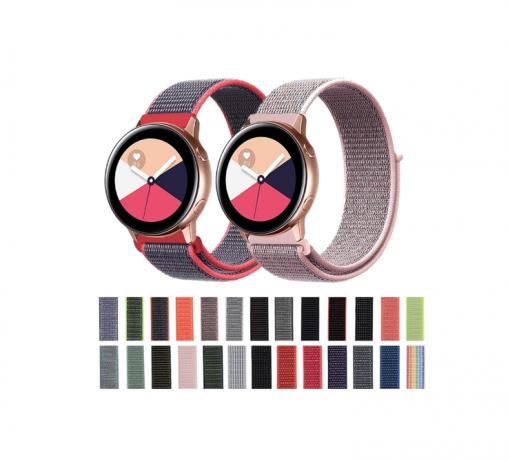 Нейлоновый ремешок для Samsung Galaxy Watch Active