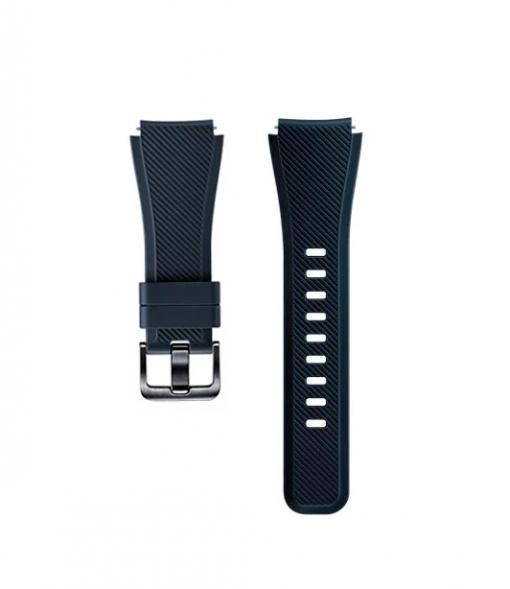 Ремешок Active Silicon для Samsung Gear S3 Frontier (ET-YSU76MBEGRU)