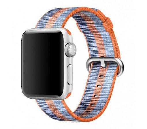 Ремешок Apple Watch Woven Nylon Band Orange stripe Series 1/2/3