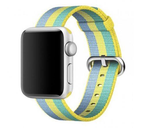 Ремешок Apple Watch Woven Nylon Band Pollen stripe Series 1/2/3