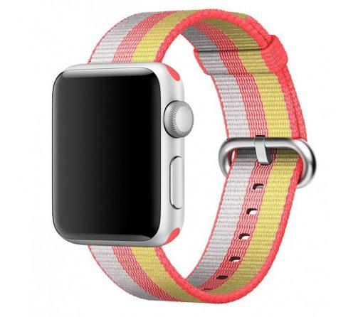 Ремешок Apple Watch Woven Nylon Band Red stripe Series 1/2/3