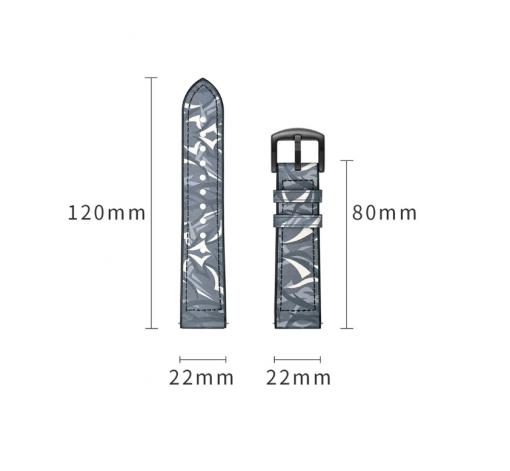 Ремешок камуфляжный для ASUS ZenWatch (WI500Q)-6