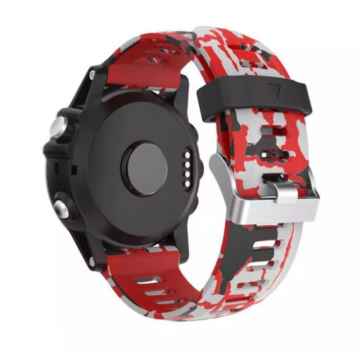 Ремешок камуфляжный для Garmin Fenix 5X-4