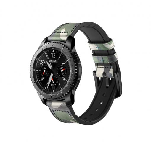 Ремешок камуфляжный для Samsung Gear S3 Classiс / Frontier-2