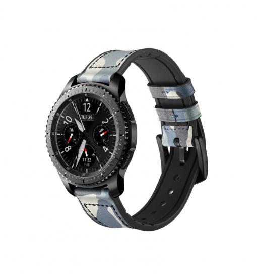 Ремешок камуфляжный для Samsung Gear S3 Classiс / Frontier-3