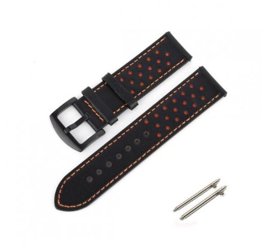Ремешок Leather для Garmin Forerunner 245 -2