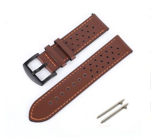 Ремешок Leather для Garmin Forerunner 245 -4