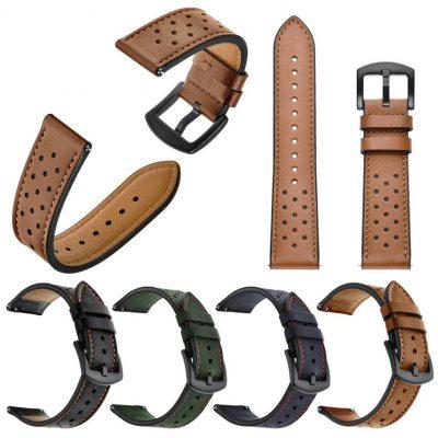 Ремешок Leather для Moto 360 2 gen 46 mm