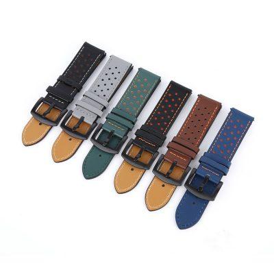 Ремешок Leather для Samsung Galaxy Watch 4 Classic 42mm