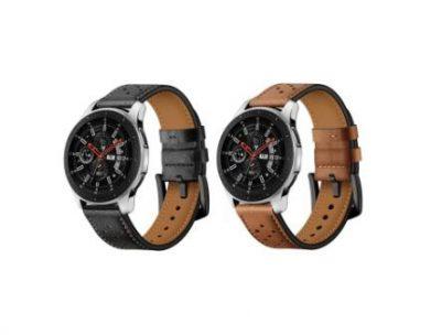 Ремешок Leather для Samsung Galaxy Watch 46mm