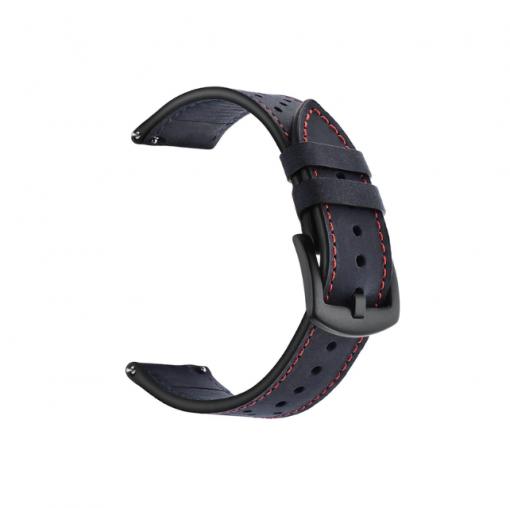 Ремешок Leather для Xiaomi Amazfit Pace-5