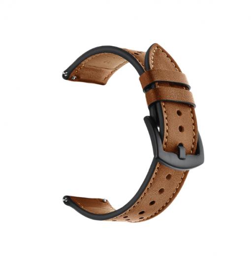 Ремешок Leather для Xiaomi Amazfit Stratos 2-2