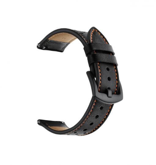 Ремешок Leather для Xiaomi Amazfit Stratos 2-3