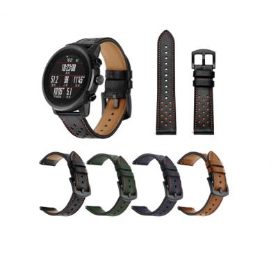Ремешок Leather для Xiaomi Amazfit Stratos 2