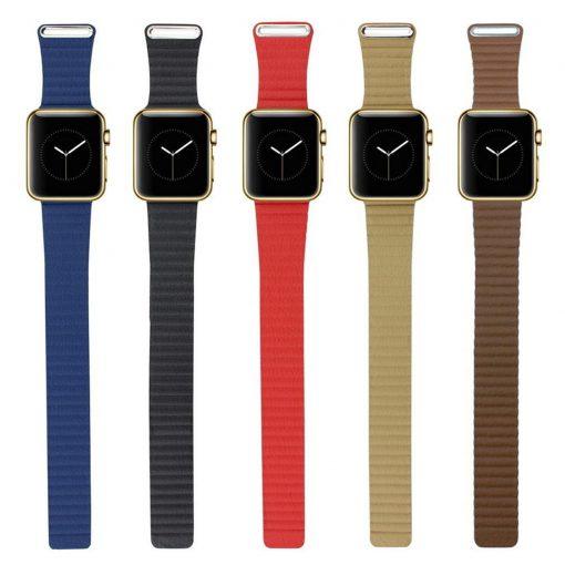 Ремешок Leather Loop Apple Watch Series 1/2/3