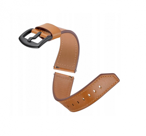 Ремешок Luxury Genuine Leather для Garmin Forerunner 745 broun