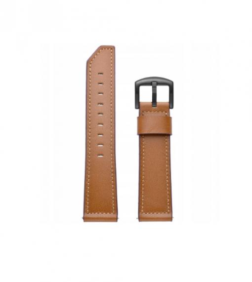 Ремешок Luxury Genuine Leather для Xiaomi Amazfit Smart Sports Watch 3 -3