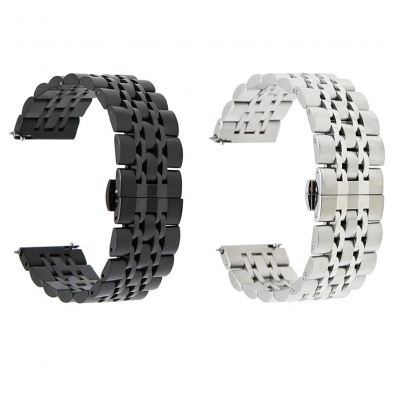 Ремешок металлический Luxury для Samsung Galaxy Watch 4 40mm