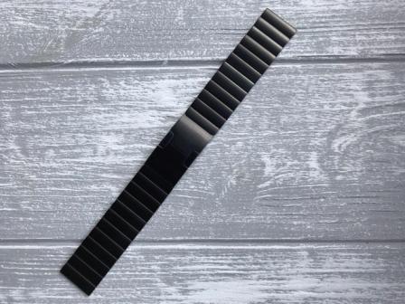 Ремешок металлический Link для Garmin Forerunner 245 -3