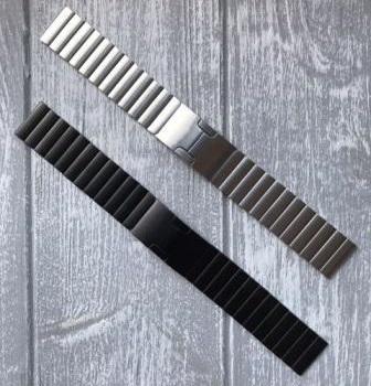 Ремешок металлический Link для Garmin Forerunner 245