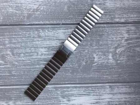 Ремешок металлический Link для Moto 360 2 gen 46 mm-5