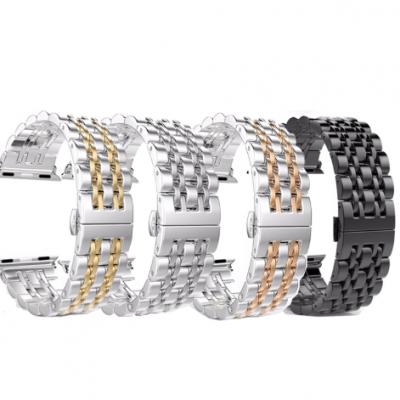 Ремешок металлический Luxury для Apple Watch Series 1/2/3