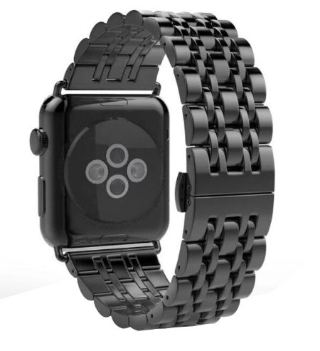Ремешок металлический Luxury для Apple Watch Series 1/2/3-5