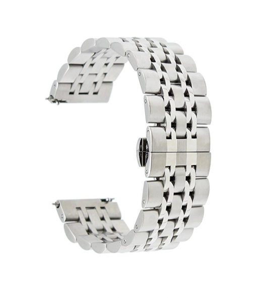 Ремешок металлический Luxury для ASUS ZenWatch (WI500Q)-3