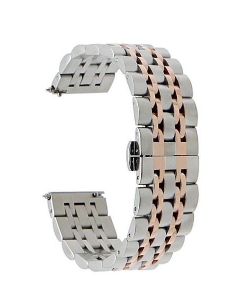 Ремешок металлический Luxury для Garmin Fenix 5-4