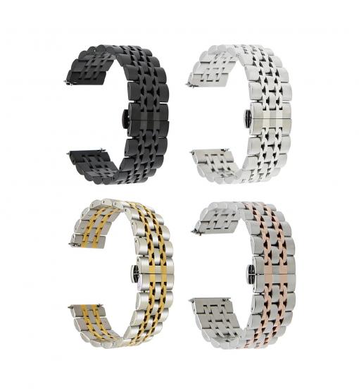 Ремешок металлический Luxury для Garmin Fenix 5