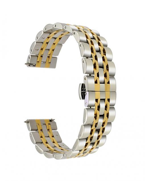 Ремешок металлический Luxury для Garmin Forerunner 935-2