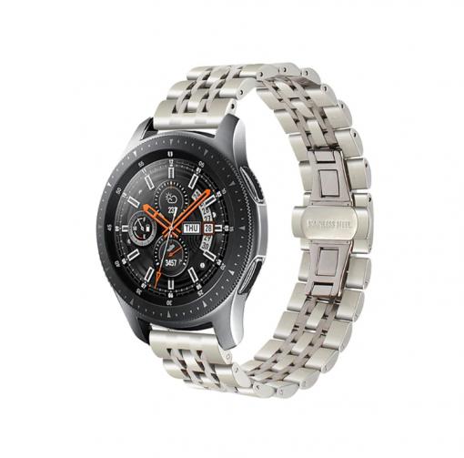 Ремешок металлический Luxury для Samsung Galaxy Watch 46mmРемешок металлический Luxury для Samsung Galaxy Watch 46mm-3