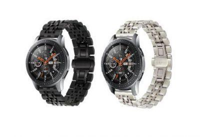 Ремешок металлический Luxury для Samsung Galaxy Watch 46mm