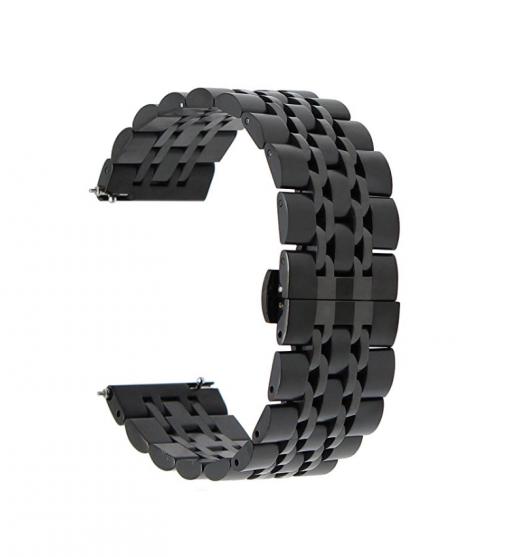 Ремешок металлический Luxury для Samsung Galaxy Watch Active 2 44 mm-2