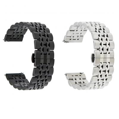 Ремешок металлический Luxury для Samsung Galaxy Watch Active 2 44 mm