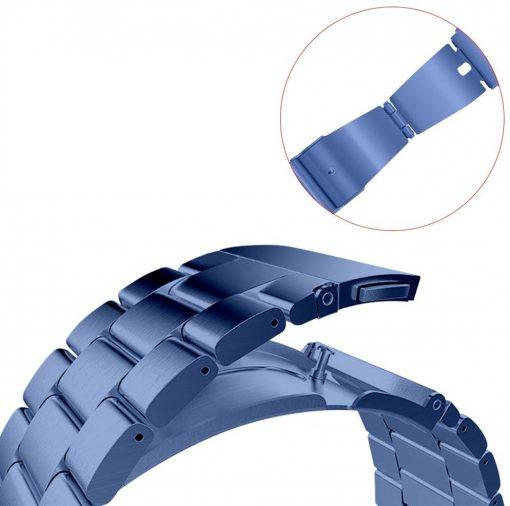 Ремешок металлический Sapphire Blue для Samsung Galaxy Watch 46 mm-3