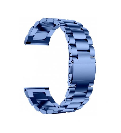 Ремешок металлический Sapphire Blue для Samsung Galaxy Watch 46 mm