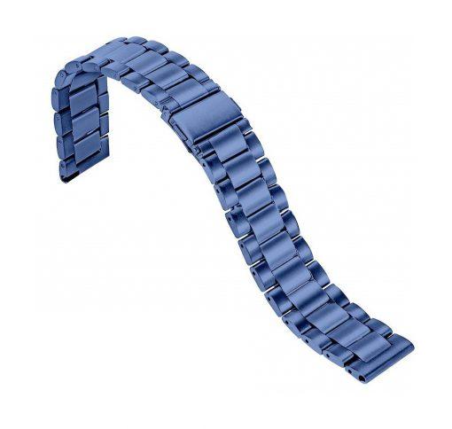 Ремешок металлический Sapphire Blue для Xiaomi Amazfit Pace-2
