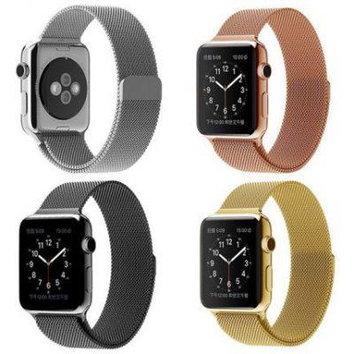 Ремешок Milanese Loop Apple Watch Series 1/2/3