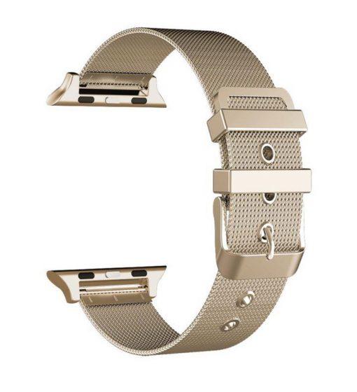 Ремешок Milanese Loop для Apple Watch Series 1/2/3/4 с классической застежкой-3