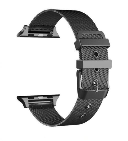 Ремешок Milanese Loop для Apple Watch Series 1/2/3/4 с классической застежкой
