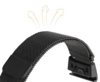 Ремешок Milanese Loop для Garmin Fenix 5x QuickFit-2