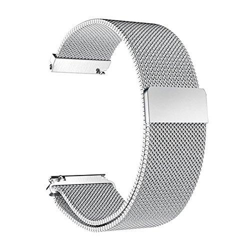Ремешок Milanese Loop для Moto 360 2 gen 42 mm-4